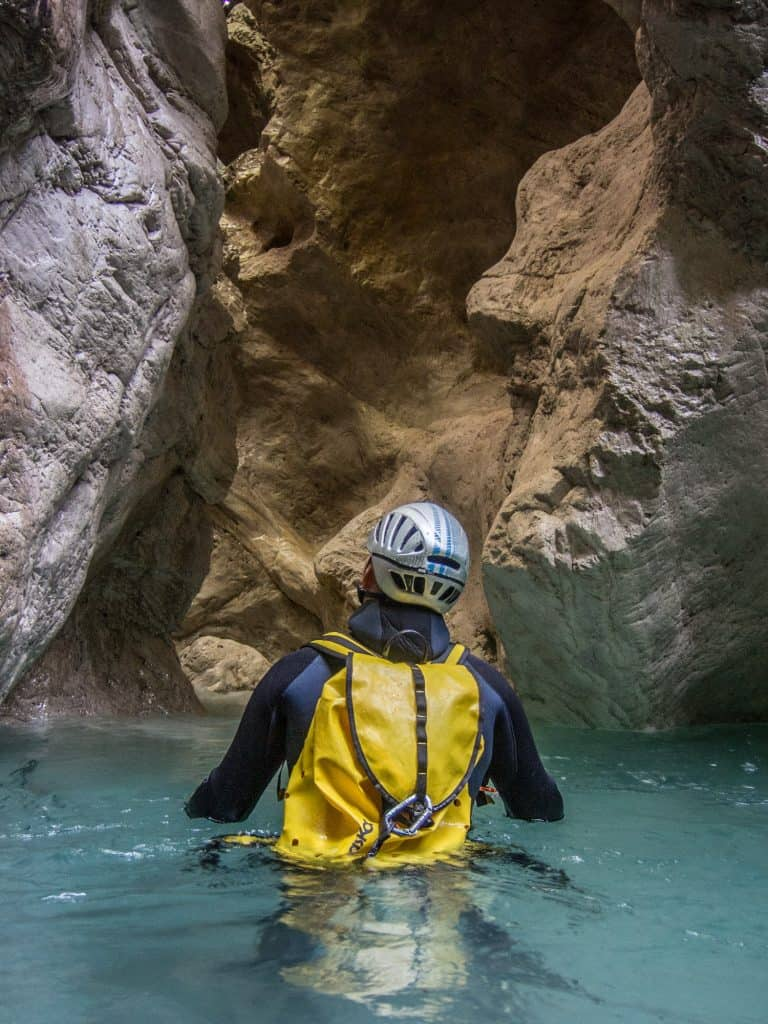 Alles im Griff - Andreas Höfer Canyoning mit Ronny HorningHöfer Canyoning